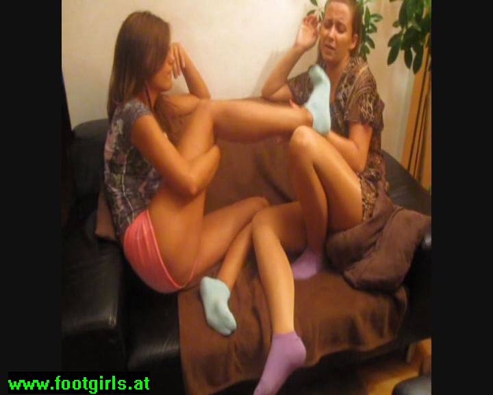 Girl-Girl Foot Smelling 2
