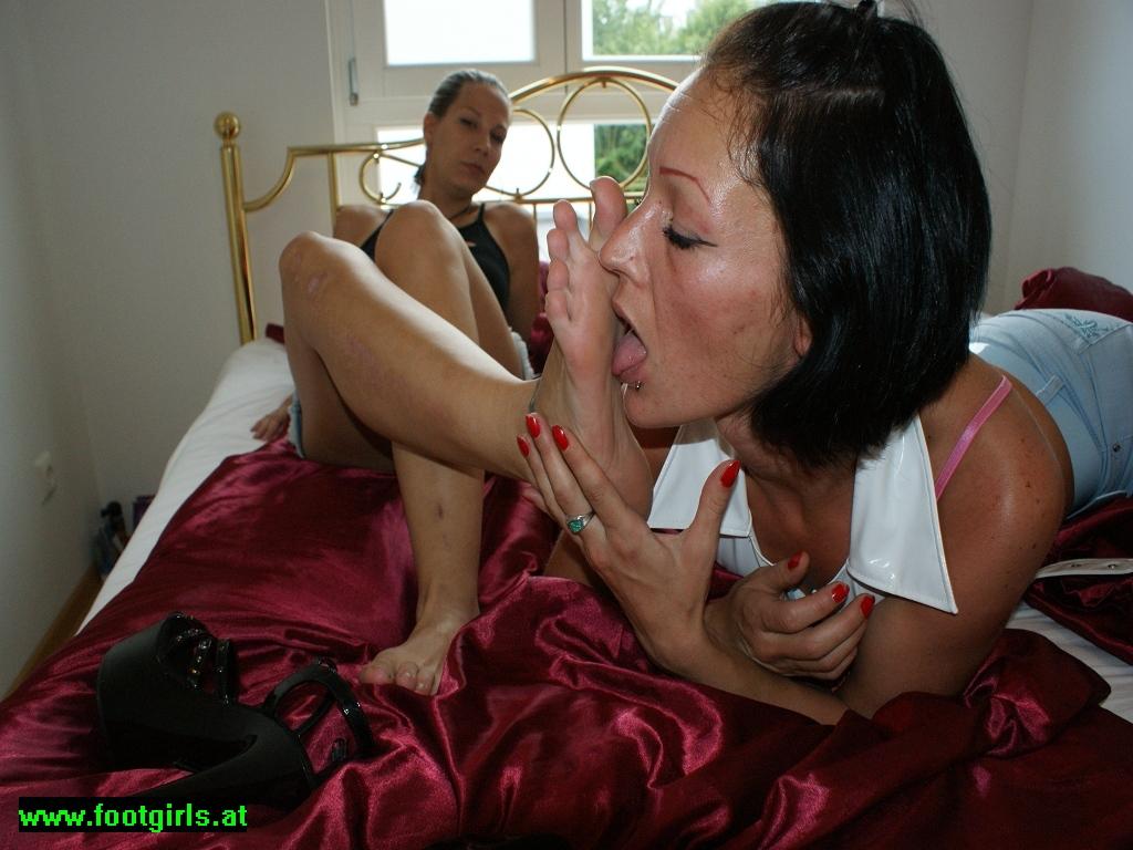 Girl-Girl Foot Worship 3
