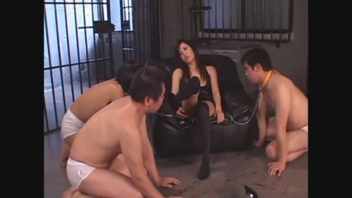 Asian goddess - education for footboys