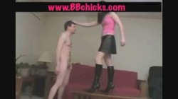 Young Ballbusting Babe